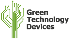 Green Technology Devices Retina Logo